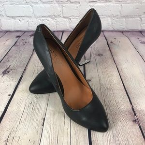 Shoe Cult by Nasty Gal Clear Heel Black Shoes